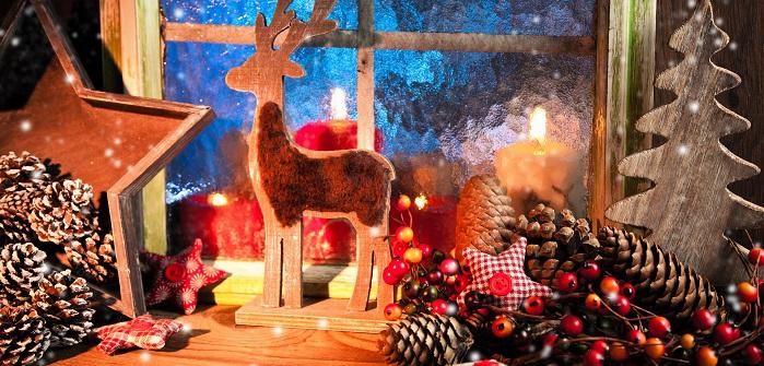 Individuelle Weihnachtsdeko für die Fensterbank: Selbermachen ist Trend