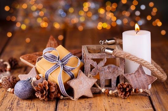 Mit den folgenden Materialien können Sie die winterliche Weihnachtsdeko selber basteln.