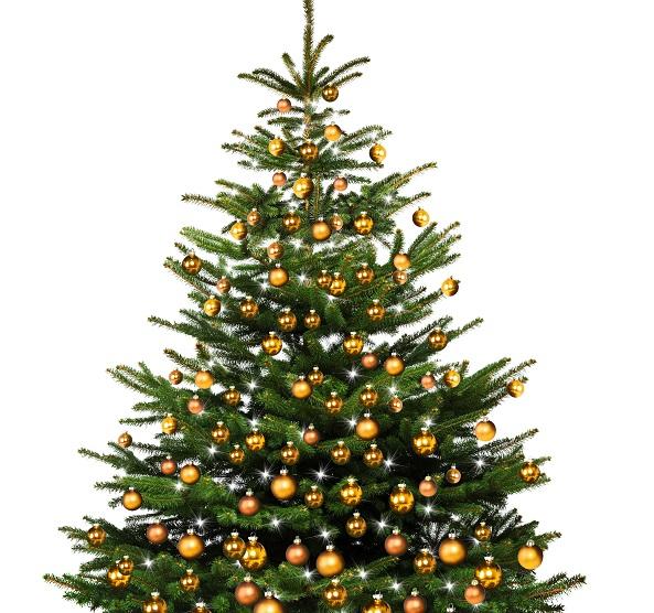 Selbst Gebasteltes für den Weihnachtsbaum. (#02)