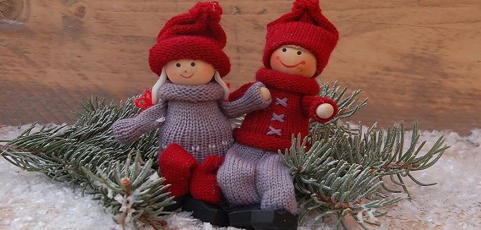 Weihnachtsdeko fürs Kinderzimmer: Oh du fröhliche