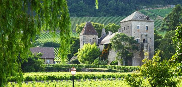 Familienfeiern einmal anders: auf einem Schloss im wunderschönen Burgund
