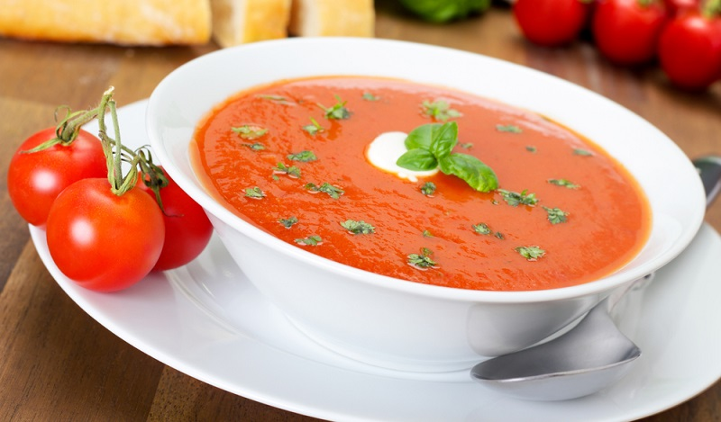 Tomatensuppe mit Kokosmilch (#03)