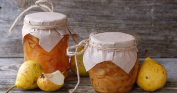 So einfach werden Früchte konserviert: Birnen einkochen