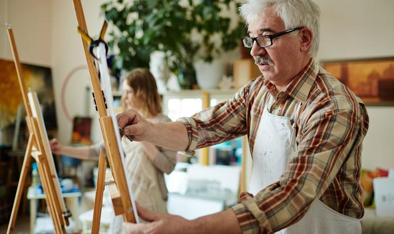Lassen Sie sich vom Können anderer Zeichner nicht einschüchtern, sondern anspornen.