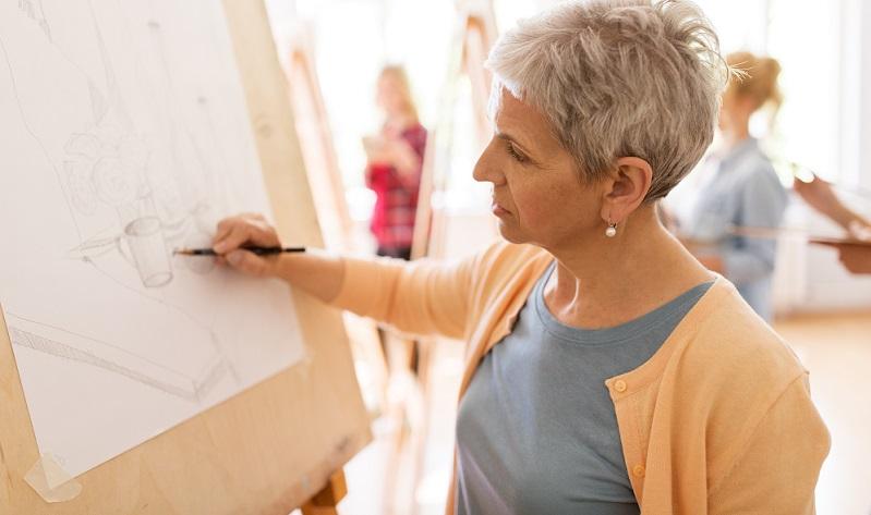Das Zeichnen für Anfänger beinhaltet daher auch immer verschiedene Übungen, die sich mit dieser Aufgabe befassen.