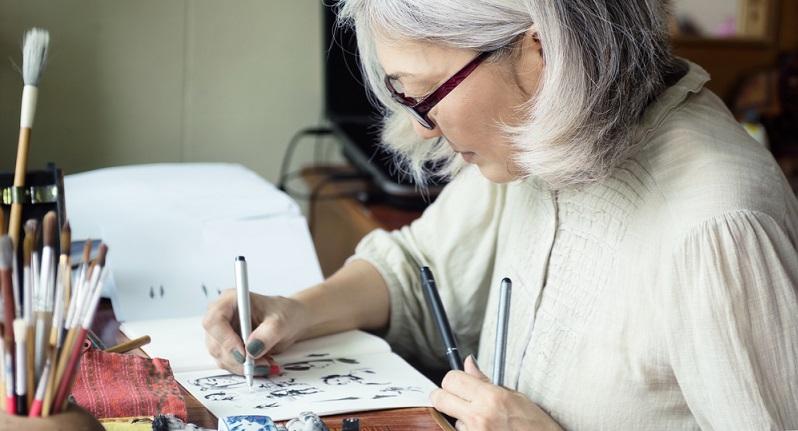 Sämtlich Tipps zum Zeichnen für Anfänger beinhalten Zeichenübungen. Sie gehören zu den Grundlagen, mit denen sich auch erfahrene Zeichner noch befassen.